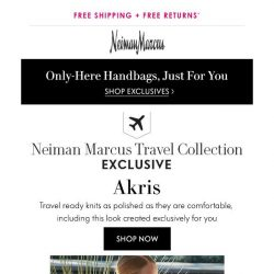 [Neiman Marcus] Lightweight knits from Akris