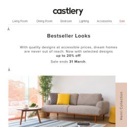[Castlery] Peek into Our Bestseller Lookbook.