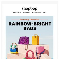 [Shopbop] Your outfit just got a little bit brighter…