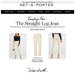 [NET-A-PORTER] The must-have jeans of the season