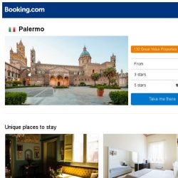 [Booking.com] Deals in Palermo from S$ 31