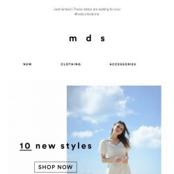 [MDS] Surprise! Check out for new arrivals!❤