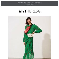 [mytheresa] How to style: the midi dress moment + limited time free shipping