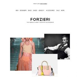 [Forzieri] A Softer Stylish Look: Marc Jacobs