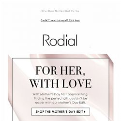 [RODIAL] Make Her Mother's Day 💖