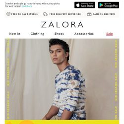 [Zalora] What A Steal: Shirts Under S$39.90