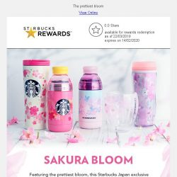 [Starbucks] More Sakura-themed goodness coming your way…