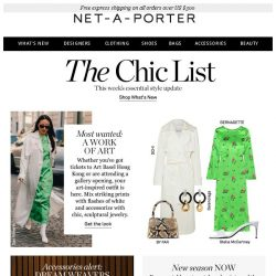 [NET-A-PORTER] What to wear to an art exhibition