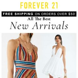 [FOREVER 21] N is for NEW.