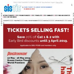 [SISTIC] THIS IS WHAT HAPPENS TO PRETTY GIRLS – Early Bird Ends 3 April!