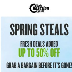 [Chain Reaction Cycles] Final Week: Save up to 50%