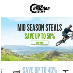 [Chain Reaction Cycles] Spring Steals. Final Days. Go →