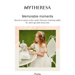 [mytheresa] Fabulous family party looks + limited time free shipping
