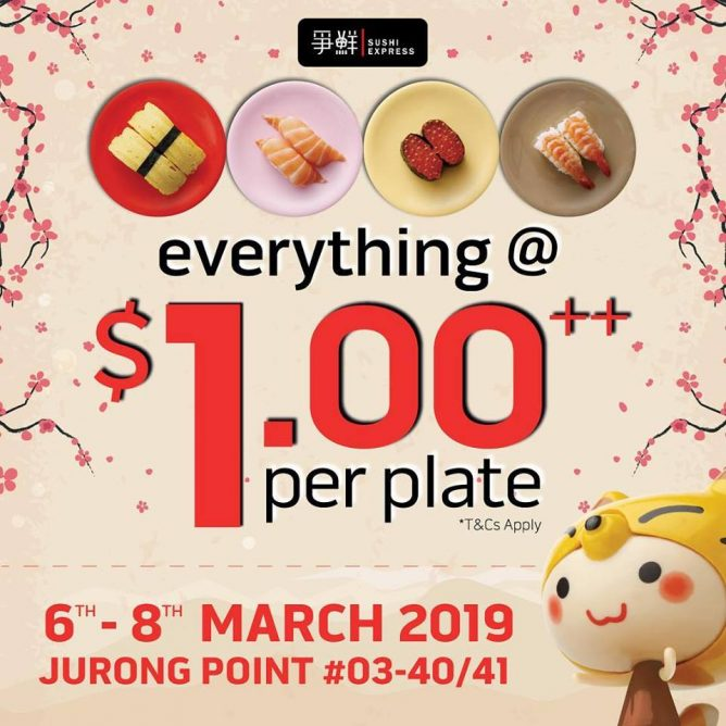 e06a71a5a26 Conditions  30 mins dine-in time   takeaway service is not available.  Promotion valid from 6 March to 8 March 2019 only.