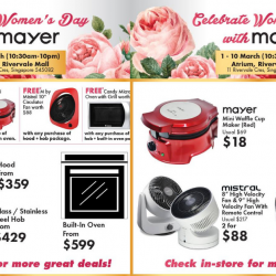 Mayer: Women's Day Fair with Exclusive Deals at Rivervale Mall