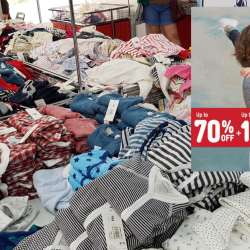 Petit Bateau: Warehouse Sale with Up to 70% OFF Baby & Kids Apparel