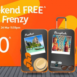 Jetstar: S$0 Friday FREE Fare Frenzy to Bangkok, Phuket, Penang, Taipei & More!