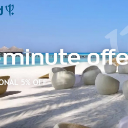 ClubMed: Last Minute Offer with Additional 5% OFF All-Inclusive Stays at Bintan, Bali, Phuket, Maldives & More!