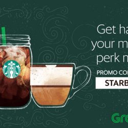 Starbucks: Get 50% OFF Your Fave Food & Drinks via GrabFood!