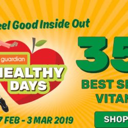 Guardian: Enjoy 35% OFF Vitamin & Supplement Bestsellers At All Stores & Online!