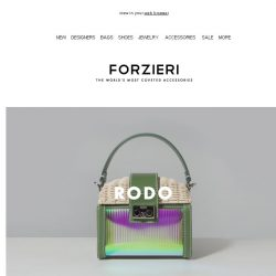[Forzieri] What's new: Rodo, Oscar Tiye and Makova Jewelry
