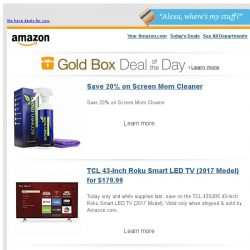 [Amazon] Save 20% on Screen Mom Cleaner