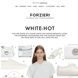 [Forzieri] Optic White: The Statement Color of SS19