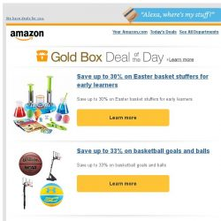 [Amazon] Save up to 30% on Easter basket stuffers for...