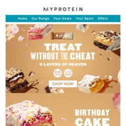 [MyProtein] Is this cheating? 😲