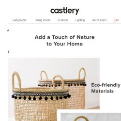 [Castlery] Let's go back to nature 🌿