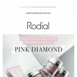 [RODIAL] Get To Know The Pink Diamond Range ✨