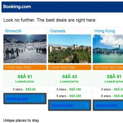 [Booking.com] Monachil, Granada and Hong Kong -- great last-minute deals as low as S$ 43!