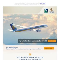 [Singapore Airlines] 1 week left to enjoy special fares