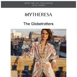 [mytheresa] Limited time free shipping + Getaway looks from Zimmermann and more
