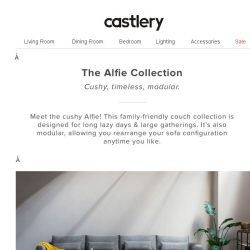[Castlery] NEW: Alfie Collection