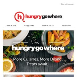 [HungryGoWhere] Spend your weekend to discover these latest eats with HungryGoWhere