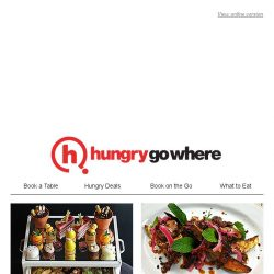 [HungryGoWhere] What better way to celebrate Easter than with a hearty weekend brunch and festive specials!