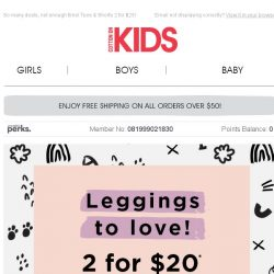 [Cotton On] Get the 4th Free! ❤ Leggings to Love!