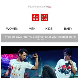 [UNIQLO Singapore] Hadouken! STREET FIGHTER UTs are finally here!