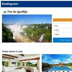 [Booking.com] Prices in Foz do Iguaçu dropped again – act now and save more!