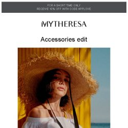 [mytheresa] Complete your look with tantalizing accessories