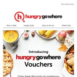 [HungryGoWhere] HungryGoWhere Vouchers – Further savings while dining at your favourite restaurants