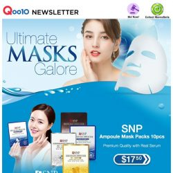 [Qoo10] It's Here for 1 Day! Ultimate Masks Sale - NEW Laneige Cica Sleeping Mask for Skin Recovery! Shop Origins, Lululun, SNP & More!