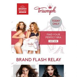 [Triumph] Triumph x Shopee Super Brands Festival Up to 60% Off