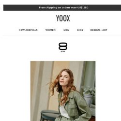 [Yoox] 8 by YOOX: Essentials for every occasion