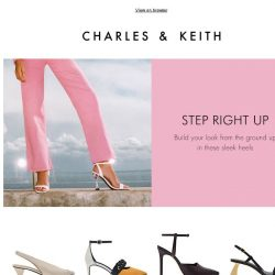 [Charles & Keith] Standout Pieces To Tide You Through The Week