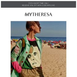 [mytheresa] Laidback-luxe styles for summer + limited time free shipping
