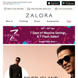 [Zalora] Go retro with River Island's new collection