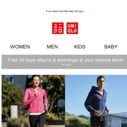 [UNIQLO Singapore] Meet your Active Style!