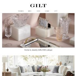 [Gilt] Lalique & More | Complete Your Dream Home